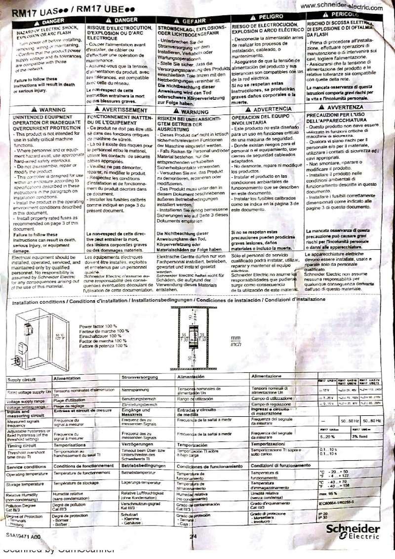 PB en electricité / protection PAC 410
