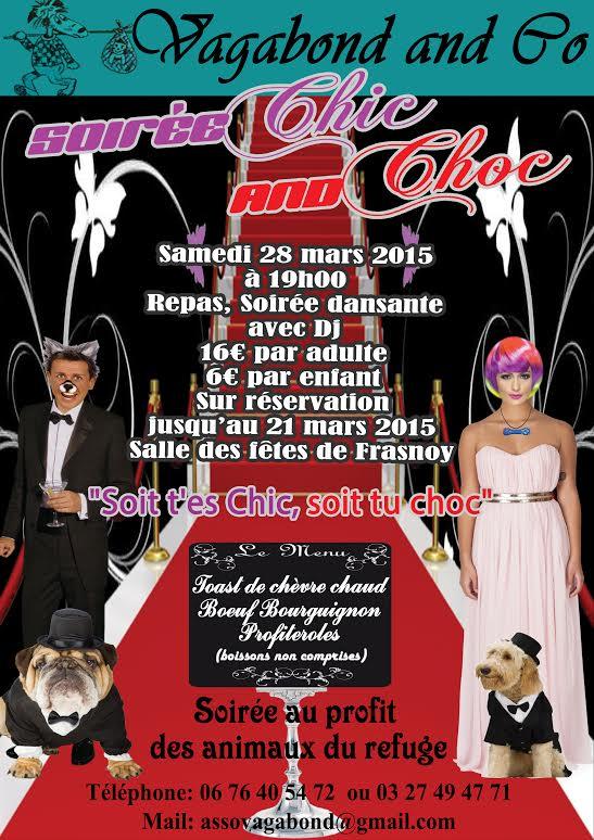 Soirée Dansante le 28 Mars 2015 - association Vagabond & Co  Soirye13
