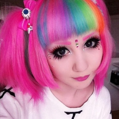 [Cheveux] Cheveux rainbow - Page 3 Tumblr15