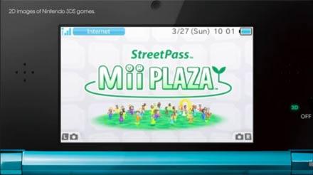 Los minijuegos de la plaza Mii de Nintendo generan millones Street10