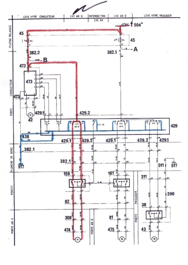 - problèmes de fonctionnement vitre électrique arrière gauche r25 limousine 210