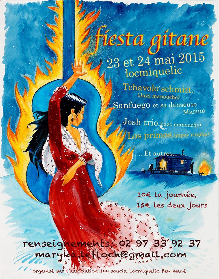 Rencontre Bretagne 2015/ Fiesta gitane Fiesta10