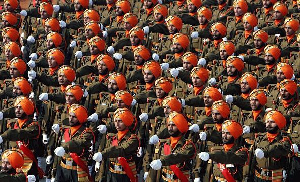 Armée Indienne / Indian Armed Forces 5169
