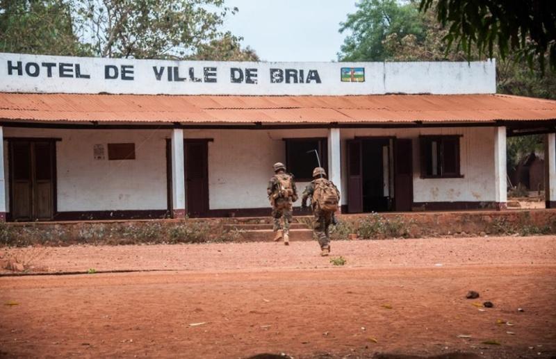 Maintien de la paix dans le monde - Les FAR en République Centrafricaine - RCA (MINUSCA) 582