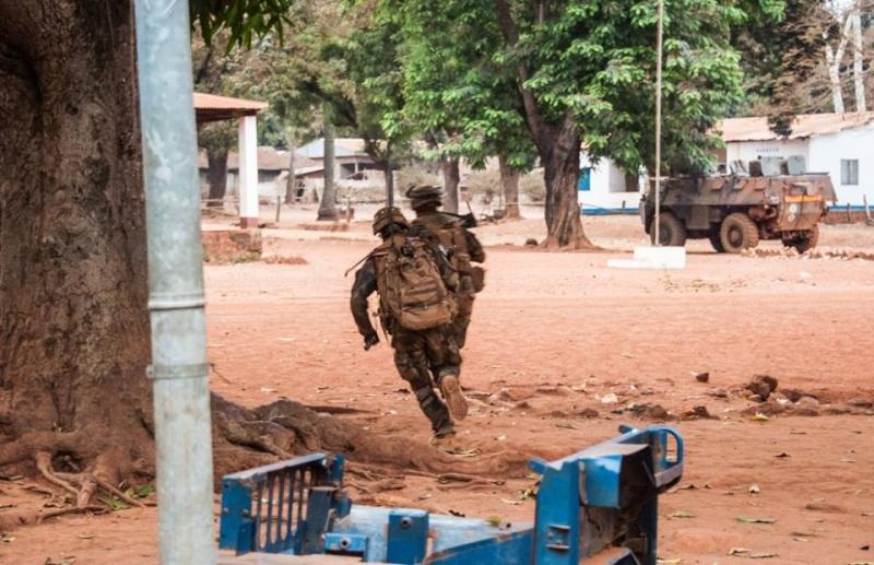 Maintien de la paix dans le monde - Les FAR en République Centrafricaine - RCA (MINUSCA) 822