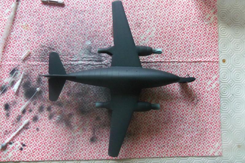 Mistel Me 262 + He 162 - montage en cours 100_2252