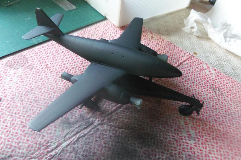 Mistel Me 262 + He 162 - montage en cours 100_2253