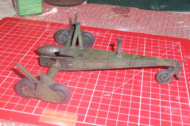 Mistel Me 262 + He 162 - montage en cours 100_2257