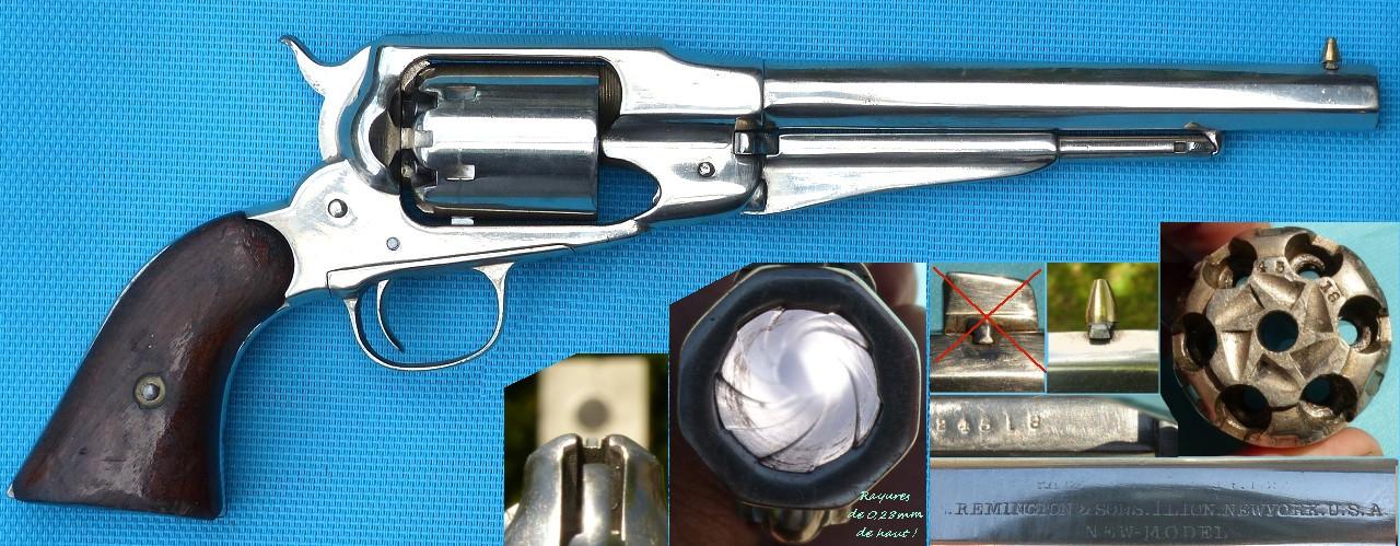 """Reconnaître un """"faux"""" Remington 1858 :  les marquages. 1858_n11"""