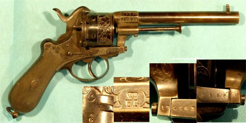 Revolver EL couronné Lefauc11