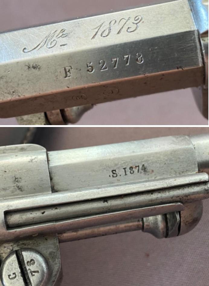 Revolver 1873 : Numérotation et problèmes - Page 7 Marqua21