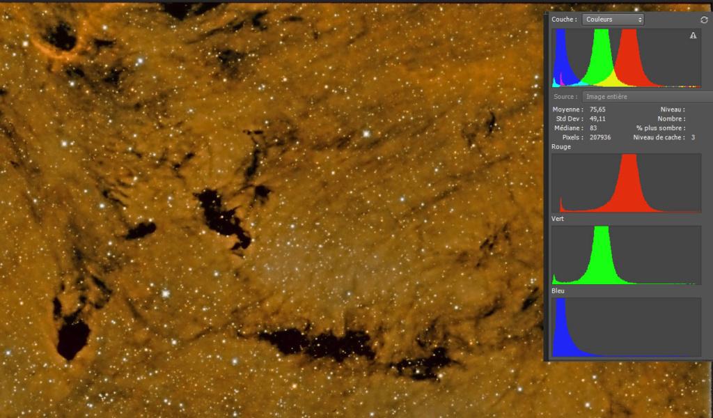 IC 1396 HOO et SHO 2 versions Test10