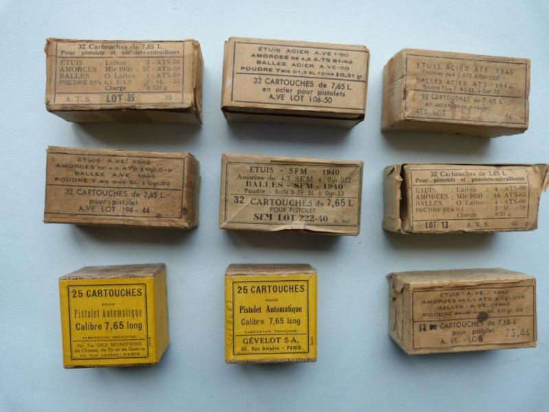 Votre estimation sur ces boites de cartouches. Boites11