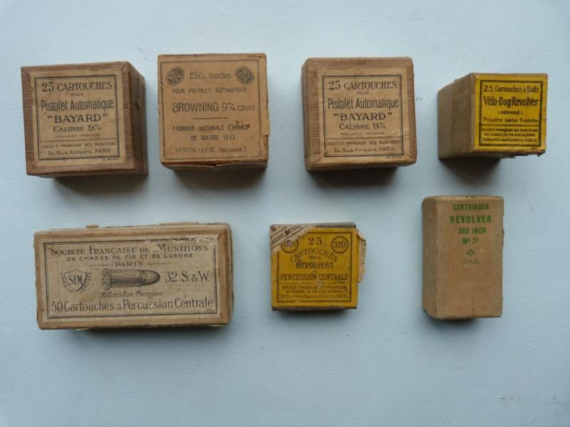 Votre estimation sur ces boites de cartouches. Boites13