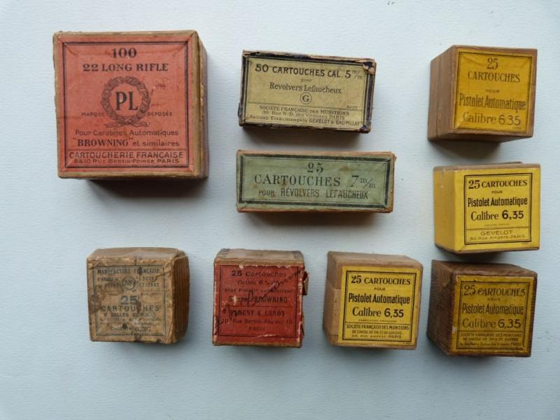 Votre estimation sur ces boites de cartouches. Boites14