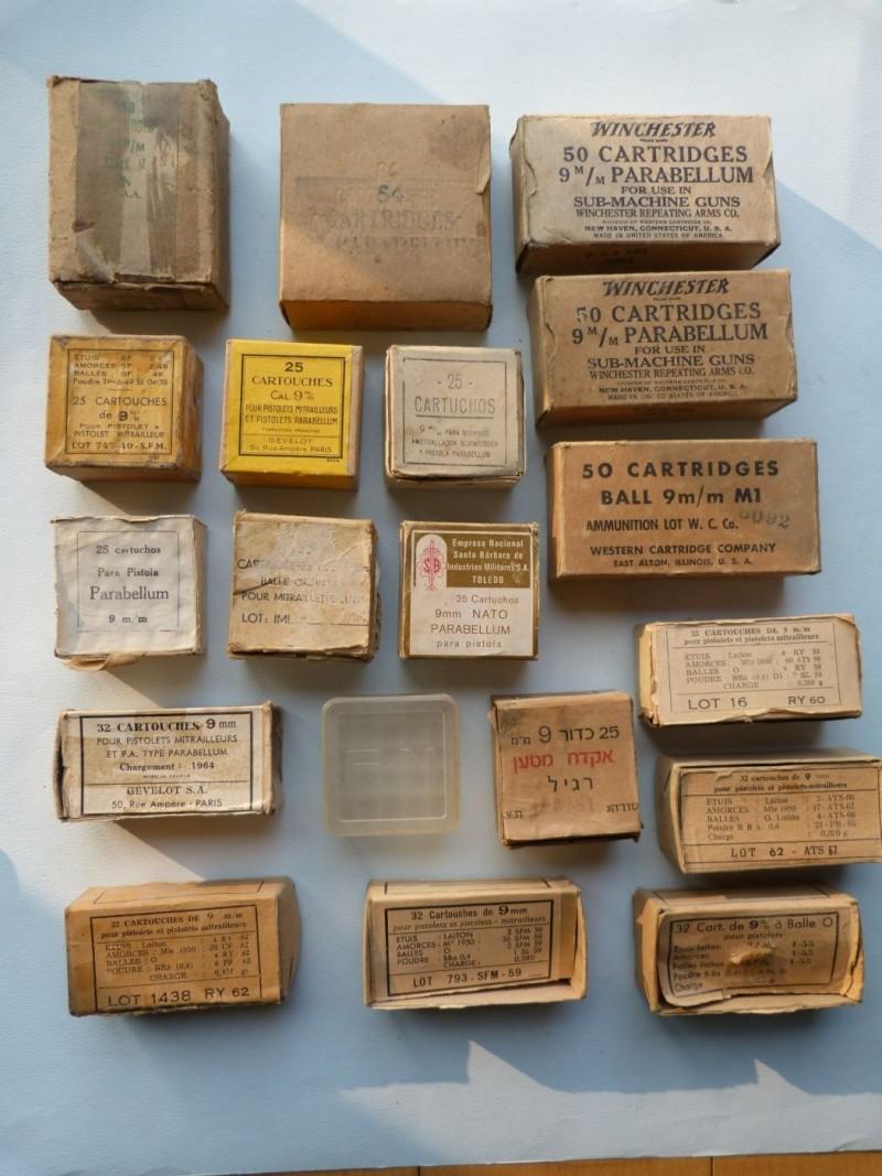 Votre estimation sur ces boites de cartouches. Boites18