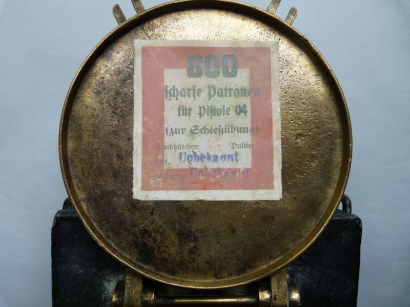 Une caissette à cartouches de la marine impériale allemande. Caisse12