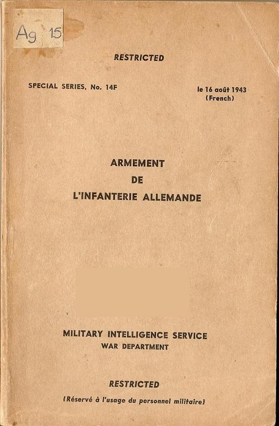 Documents secrets ou confidentiels (restricted). Armeme10