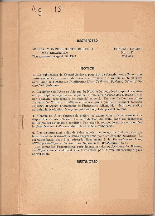 Documents secrets ou confidentiels (restricted). Armeme11