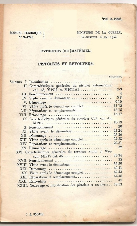 Documents secrets ou confidentiels (restricted). Pistol11