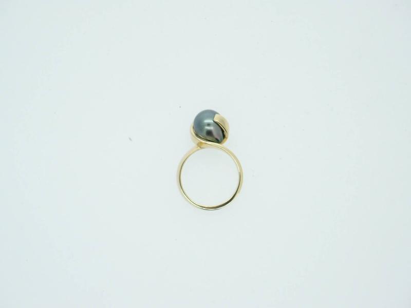 bague Perle de Tahiti poire 10863910
