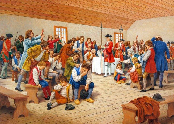 """""""LE GRAND DERANGEMENT""""    La tragédie Acadienne Deport10"""