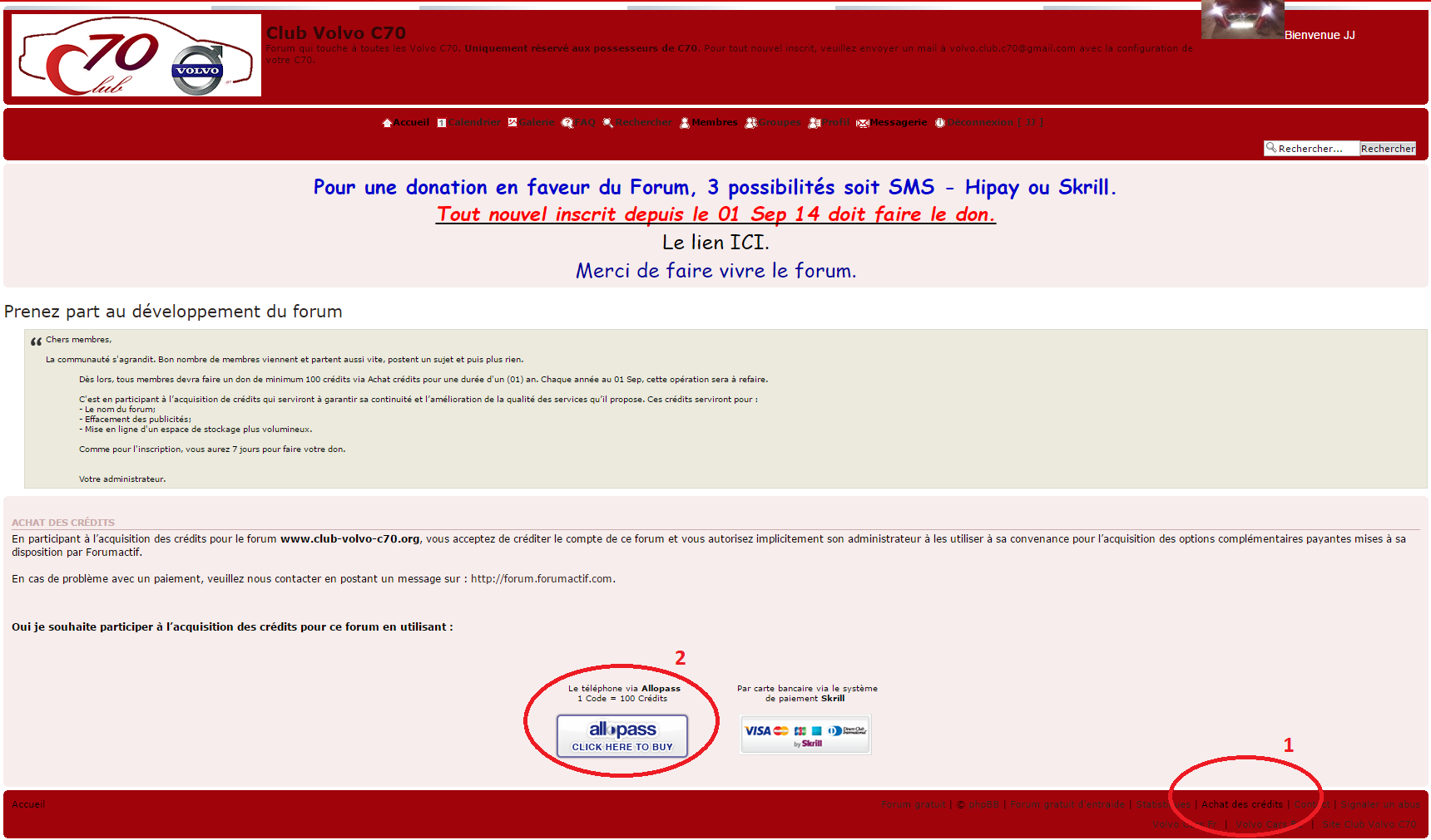 Comment faire la Contribution pour le Forum Pictur10