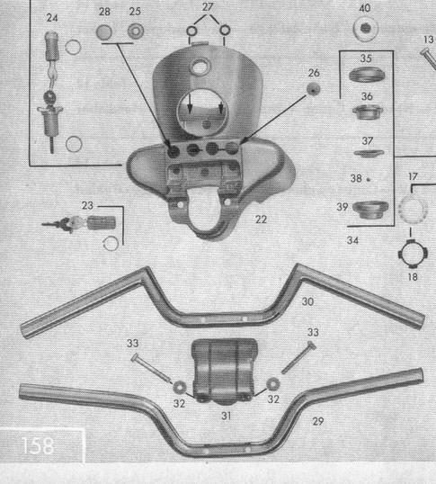 Rafraichissement d'un KS100 de 1967 Guidon13