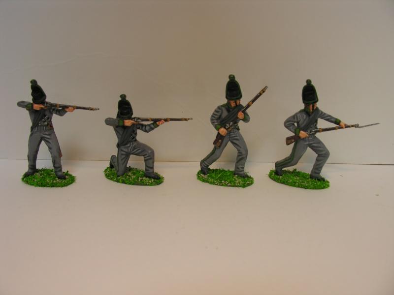 allemand - chasseur d'avant garde de brunswick 1809-1815 Avant_10