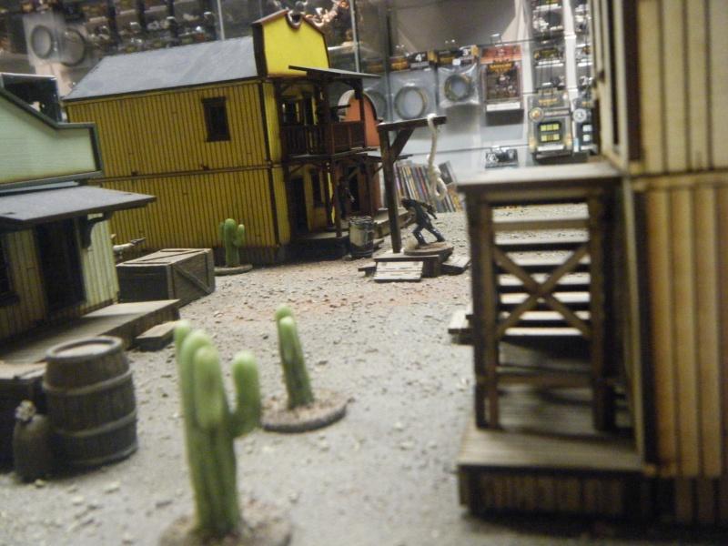 Les bandes d'Hobby Shop et la table de démo 00610