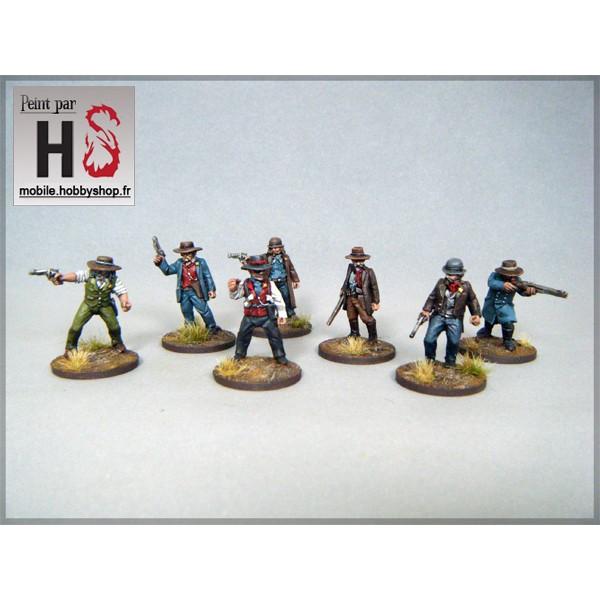 Les bandes d'Hobby Shop et la table de démo Lawmen10