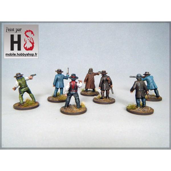 Les bandes d'Hobby Shop et la table de démo Lawmen11