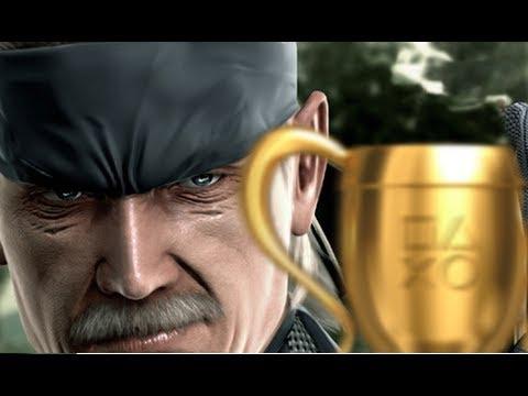 Los trofeos de Metal Gear Solid 4 ya están disponibles en Europa 010