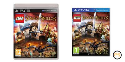 (PS3/PSVita) Desvelada la carátula de LEGO El Señor de los Anillos Caratu10
