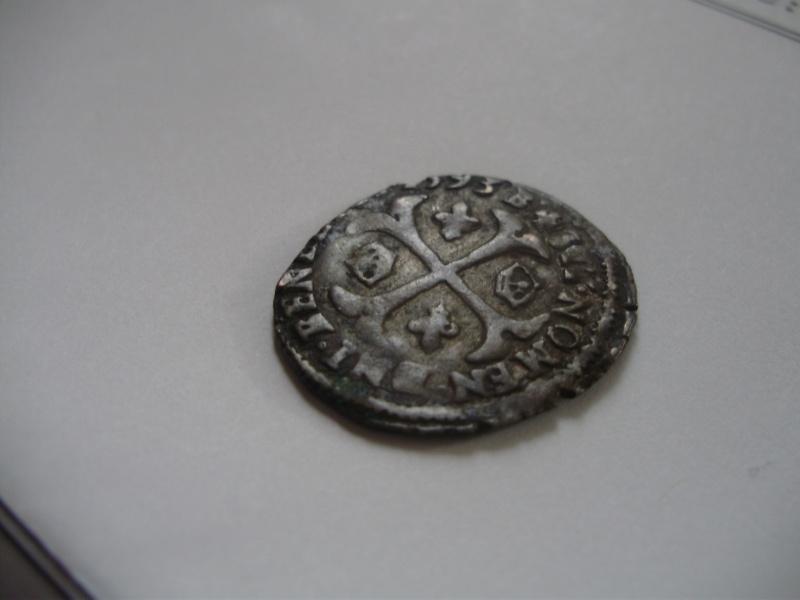 Douzain pour HENRI IV, 1593 Montpellier P8310010