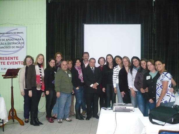 Equipe do Centro de Apoio Para a Educação a Distância de São Francisco de Paula Equipe10