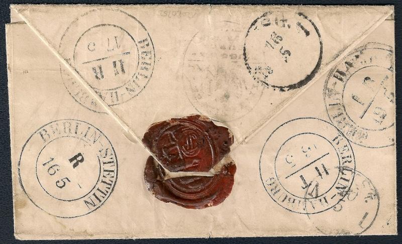 Ortsstempel aus Mecklenburg-Vorpommern 1851-011