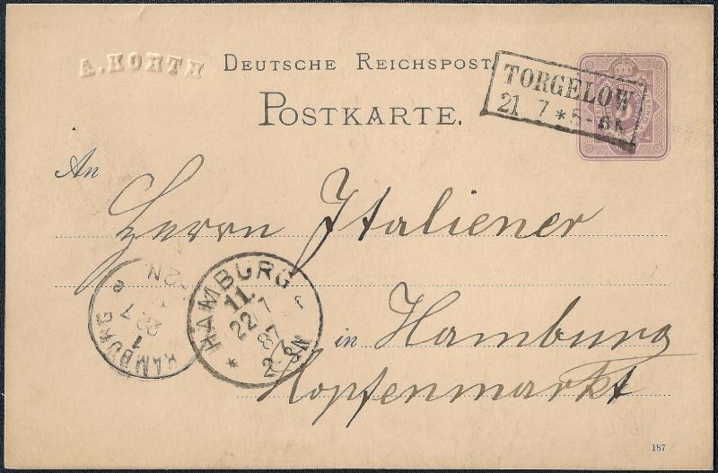 Ortsstempel aus Mecklenburg-Vorpommern 1887-010