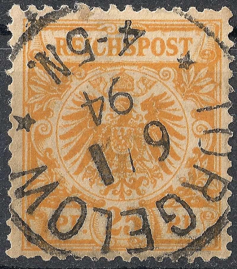 Ortsstempel aus Mecklenburg-Vorpommern 1894-010