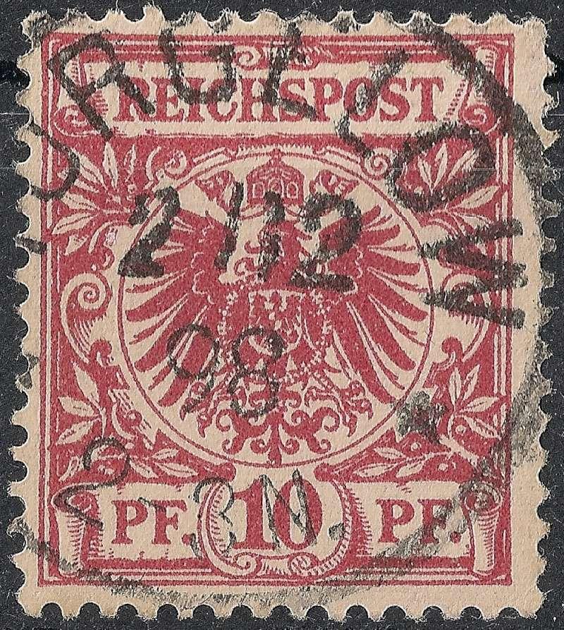 Ortsstempel aus Mecklenburg-Vorpommern 1898-110