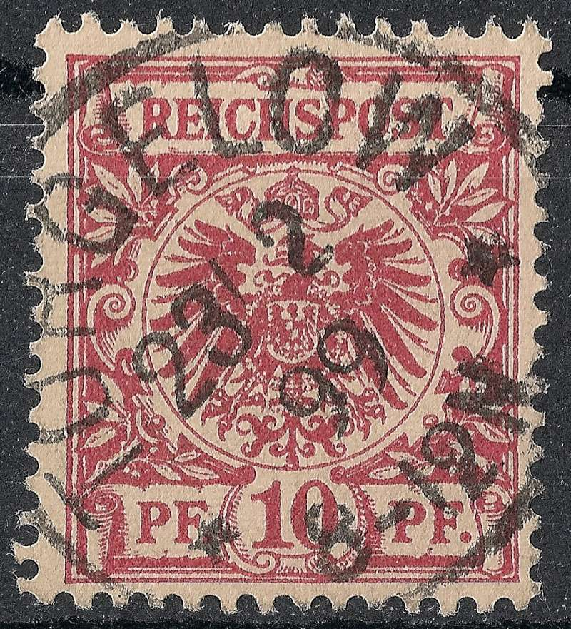 Ortsstempel aus Mecklenburg-Vorpommern 1899-010
