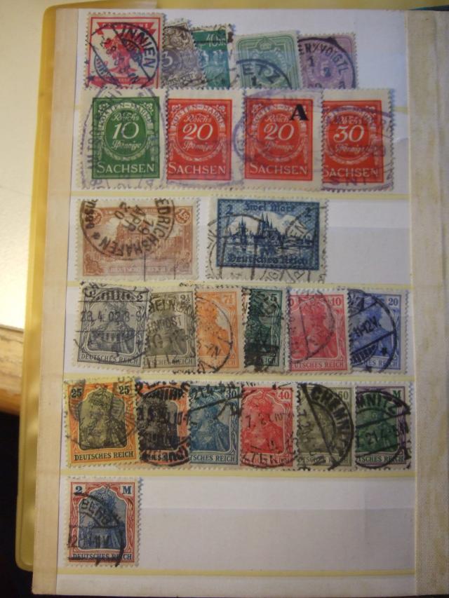 Briefmarkensammlung aus meiner Kindheit 891r5h10