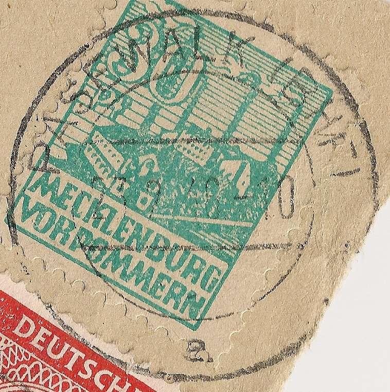 Ortsstempel aus Mecklenburg-Vorpommern Beitra11
