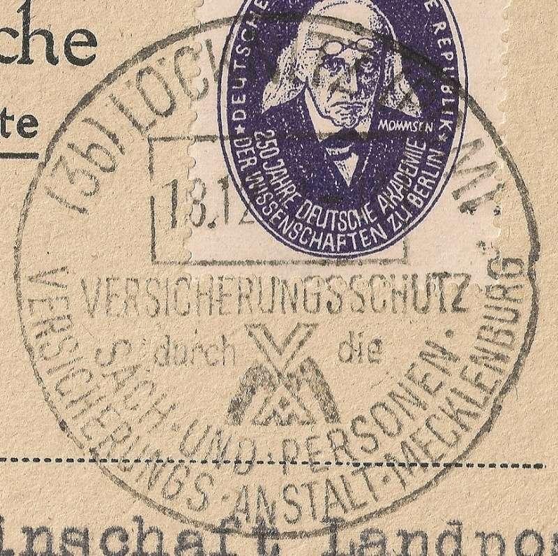 Ortsstempel aus Mecklenburg-Vorpommern Beitra14