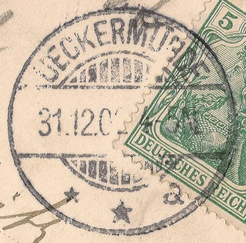 Ortsstempel aus Mecklenburg-Vorpommern Beitra17