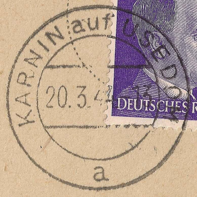 Ortsstempel aus Mecklenburg-Vorpommern Beitra19