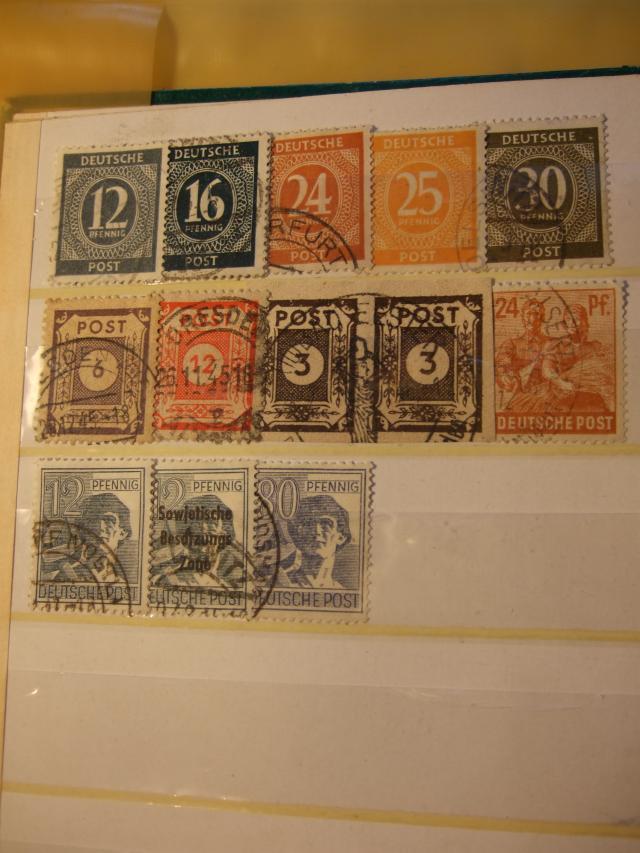 Briefmarkensammlung aus meiner Kindheit Ob5t1r10