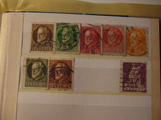 Briefmarkensammlung aus meiner Kindheit Vd6pg110