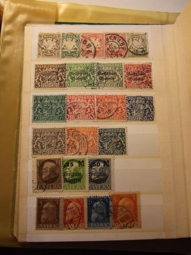 Briefmarkensammlung aus meiner Kindheit Ztvko910