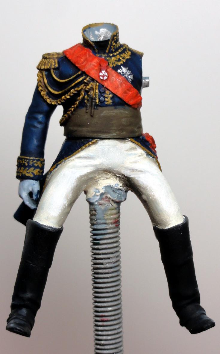 Maréchal Berthier, prince de Neuchâtel de Metal modèles, terminé Dsc05323